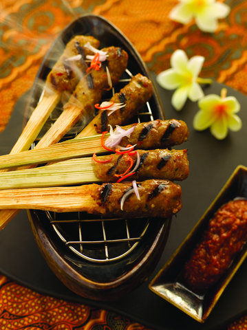 بانيان تري أونغاسان - Bambu Satay Lilit