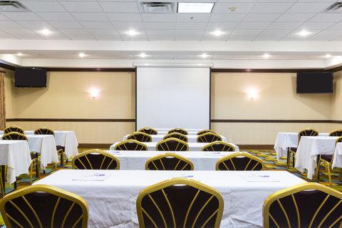 Holiday Inn Resort DAYTONA BEACH OCEANFRONT - Atlantic Room can accommodate up to 75 classroom style