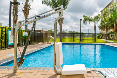 Staybridge Suites BROWNSVILLE - ADA Handicapped accessible swimming pool lift