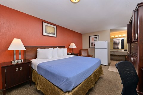 Americas Best Value Inn / I-45 North Houston - One King Bed Guest Room
