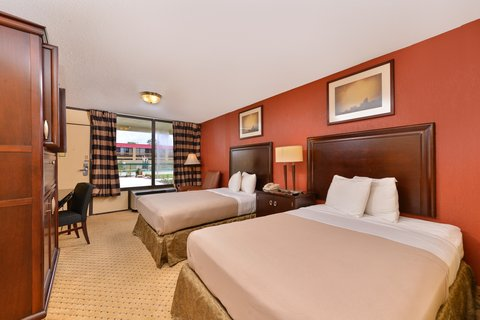 Americas Best Value Inn / I-45 North Houston - Two Double Bed Kitchenette Suite