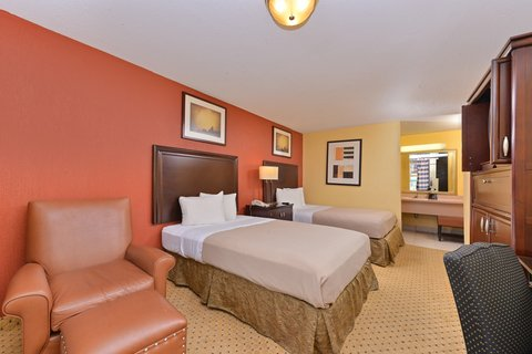 Americas Best Value Inn / I-45 North Houston - Two Double Bed Guest Room
