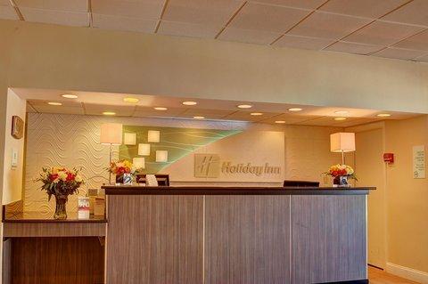 Holiday Inn DANBURY-BETHEL @ I-84 - Front Desk
