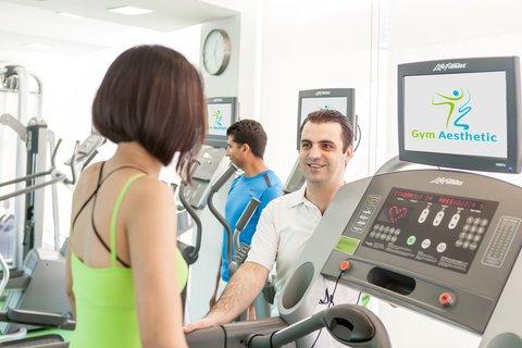 فندق هوليدي ان البرشا - Stay fit at our well equipped Gym Aesthetic