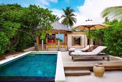 Six Senses Laamu - Family Villa W-Pool Exterior