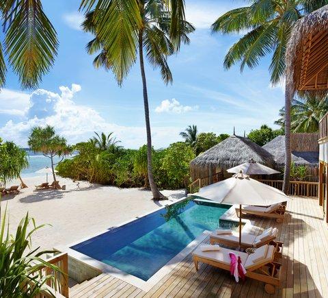 Six Senses Laamu - Bedroom Ocean Beach Villa w-Pool