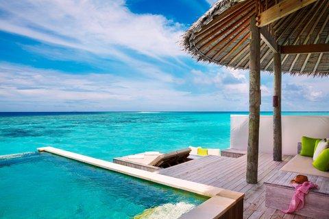 Six Senses Laamu - Laamu Water Villa w-Pool
