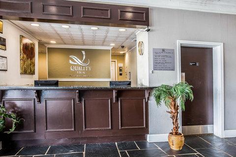 Quality Inn & Suites - Interior