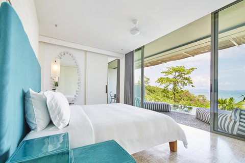 Point Yamu By Como - Bay Pool Suite Bedroom