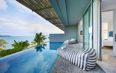 Point Yamu By Como - Bay Pool Suite Balcony