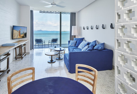 Point Yamu By Como - Bay Suite Living Room