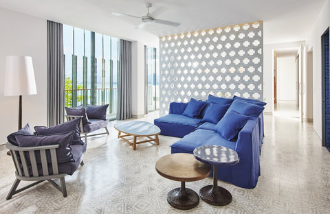 Point Yamu By Como - Point Yamu Suite Living Room