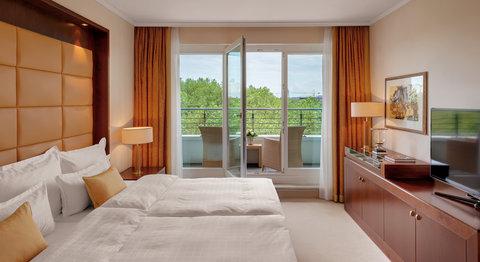 غراند إيليسي هامبورغ - Penthouse corner Suite at Grand Elys e Hamburg
