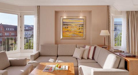 غراند إيليسي هامبورغ - Corner Room at Grand Elys e Hamburg