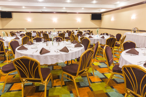 Holiday Inn Resort DAYTONA BEACH OCEANFRONT - 1 200 sq ft  Atlantic Room accommodates up to 70 in Rounds of 8