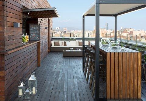 Renaissance Barcelona Hotel - Roof Top Terrace Bar