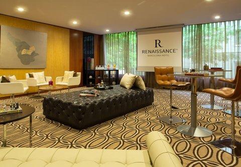 Renaissance Barcelona Hotel - Maragda Social Setup