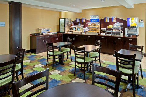Holiday Inn Express BOWLING GREEN - Start your day with our Express Start Breakfast Bar