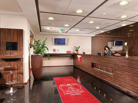 Leonardo Frankfurt Airport - Reception