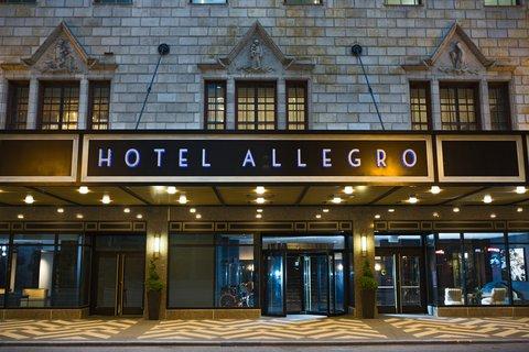 Allegro Chicago A Kimpton Htl - Exterior Port Cochere