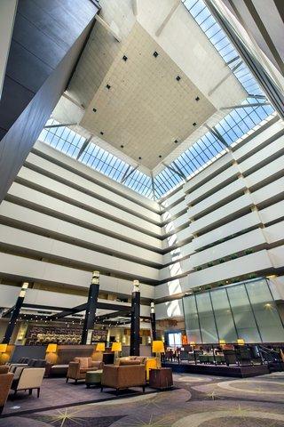 Holiday Inn Chicago Mart Plaza Hotel - 15th Floor Open Atrium Lobby