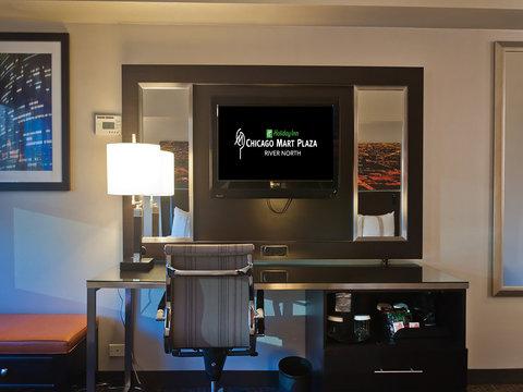 Holiday Inn Chicago Mart Plaza Hotel - Premium Guestroom Work Desk