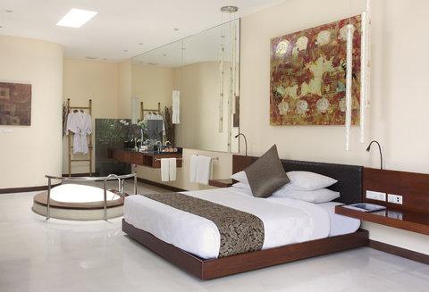伊利森别墅酒店 - Bedroom at Two Bedroom Villa