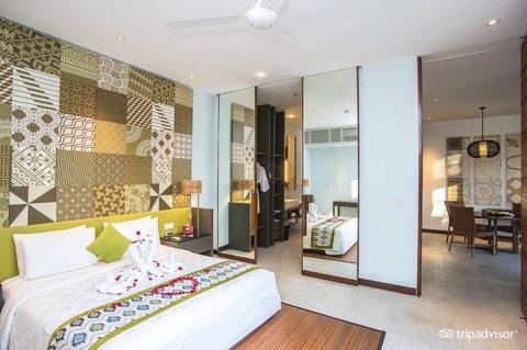 伊利森别墅酒店 - Bedroom at One Bedroom Villa