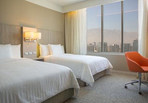 Courtyard Santiago Las Condes - Double Double Guest Room - Mountain View