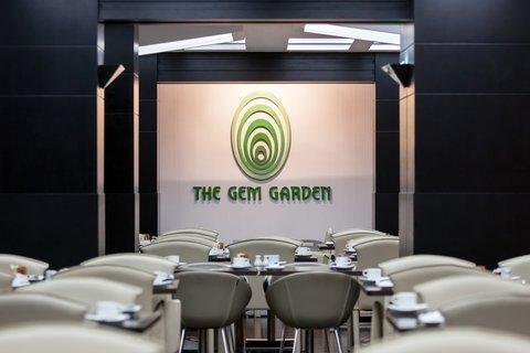 فندق هوليدي ان البرشا - All day dining in The Gem Garden