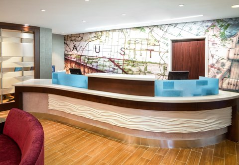 SpringHill Suites by Marriott Austin South - Front Desk