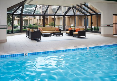 Courtyard By Marriott Chicago Arlington Heights / South Hotel - Indoor Pool