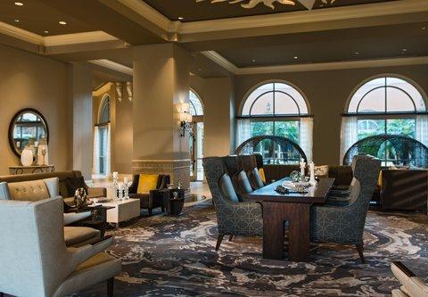 Renaissance Tampa International Plaza Hotel - Lobby