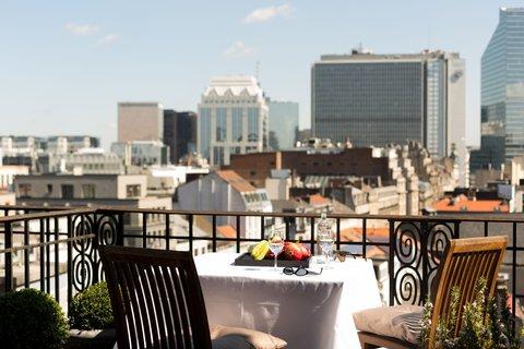 NH Atlanta Brussels - Terrace