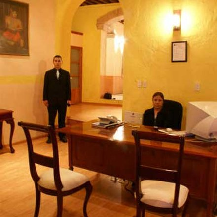 Casa Santo Domingo - front desk