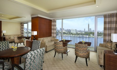 The Nile Ritz-Carlton, Cairo - Club Lounge