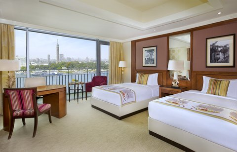 The Nile Ritz-Carlton, Cairo - Deluxe Twin Nile View Room