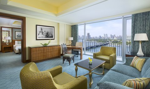 The Nile Ritz-Carlton, Cairo - Executive Suite Living Area