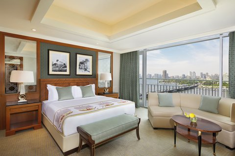 The Nile Ritz-Carlton, Cairo - Presidential Suite Bedroom