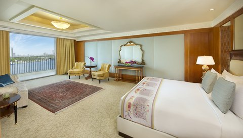The Nile Ritz-Carlton, Cairo - Royal Suite Bedroom