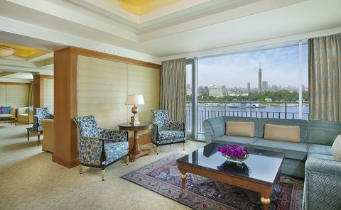The Nile Ritz-Carlton, Cairo - Royal Suite Living Area