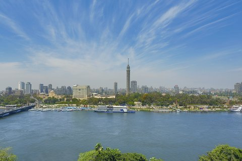 The Nile Ritz-Carlton, Cairo - View From The Presidential Suite