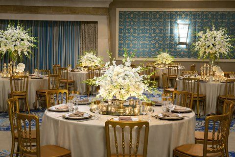 The Nile Ritz-Carlton, Cairo - Weddings In Alf Leila Wa Leila Ballroom