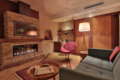 Ariana Sustainable Luxury Lodge - KAMRUSEPADeluxe Cave Suite