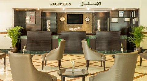 Coral Dubai Deira Hotel - Reception