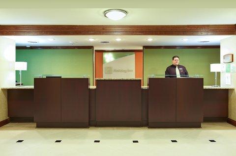 Holiday Inn Blytheville Hotel - Front Desk