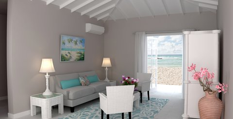 Sugar Bay Barbados - Oceanfront Family Suite - Living Room