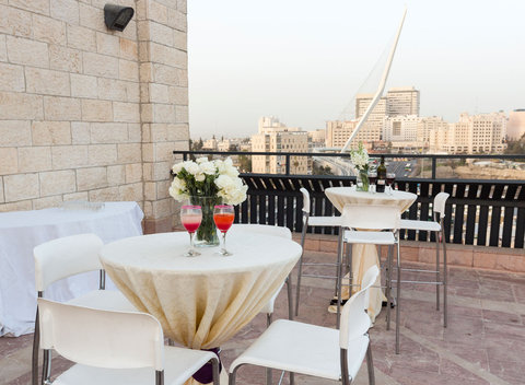 Jerusalem Gardens Hotel and Spa - Terrace