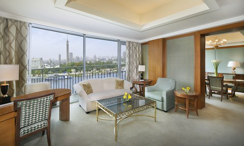The Nile Ritz-Carlton, Cairo - Presidential Suite Living Area