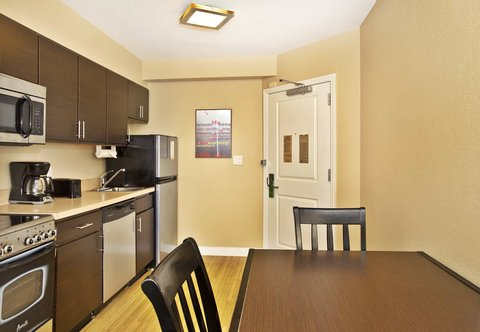 TownePlace Suites Republic Airport Long Island/Farmingdale - Two-Bedroom Suite - Kitchen Area